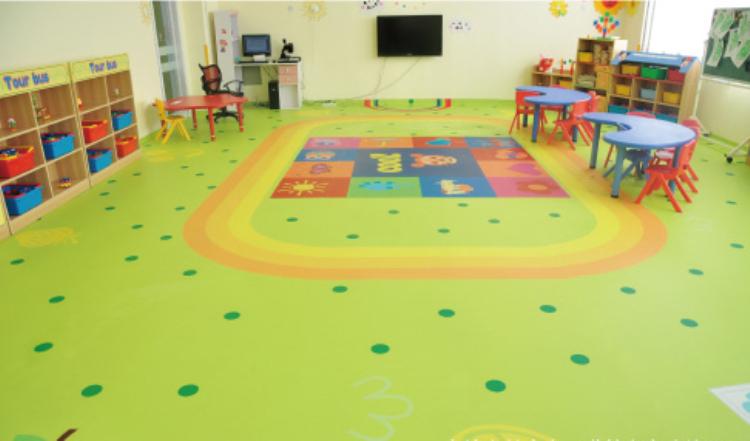 室内幼儿园PVC地板