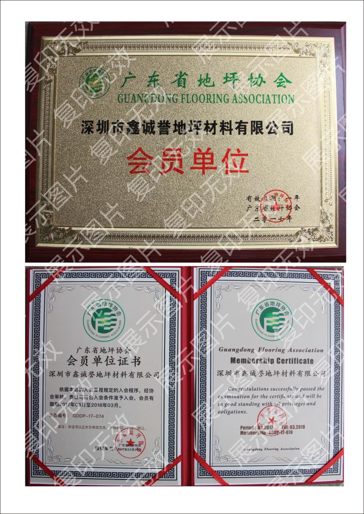 广东省地坪协会会员单位