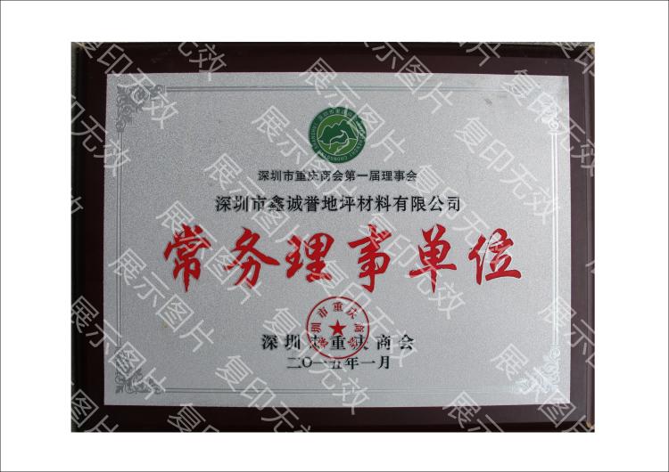 深圳市重庆商会常务理事单位